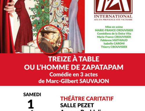 Soirée théâtre, le 1er décembre 2018 à Palette