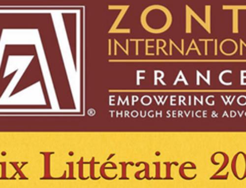 PRIX LITTERAIRE 2019 DES ZONTA CLUBS DE FRANCE