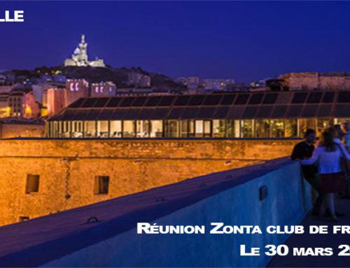 REUNION DES ZONTA CLUBS DE FRANCE 29 et 30 mars 2019