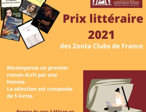 Prix littéraire 2021