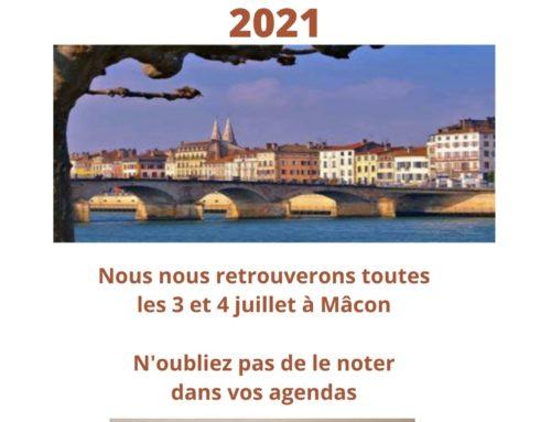 Réunion des Zonta Clubs de France